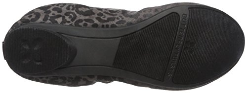 Butterfly Twists Womens Tamsin Ballet Flat Grey / Black