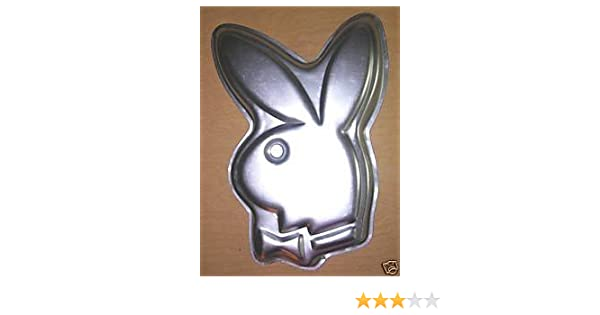 Amazon.com: Wilton Playboy Bunny Cake Pan (502-2994): Novelty Cake ...