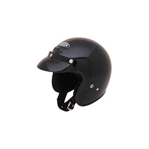 (GMax GM2 Black Youth Open Face Helmet - Youth Small/Medium)