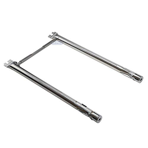 304 Series - Uniflasy 304 Stainless Steel Grill Burner Tube Set 69785 for Weber Spirit 200 Series with Up Front Controls (2013 Model Years and Newer
