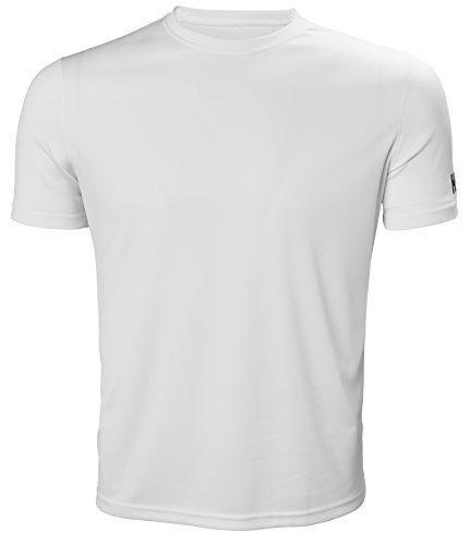 Helly Hansen Men'sTech T-Shirt, White, X-Large (Helly Underwear Hansen Long)