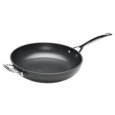 Le Creuset Toughened Nonstick 11-3/4-Inch Deep Fry Pan