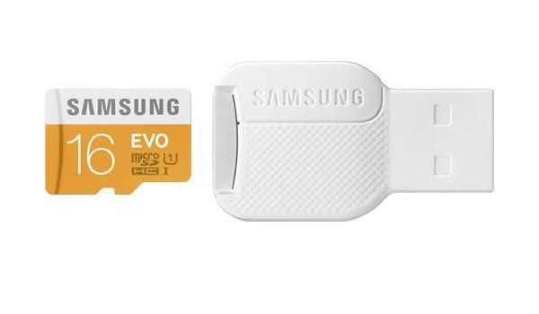 Tarjeta micro SD 16 GB + Adaptador USB para Huawei P8/P8 ...