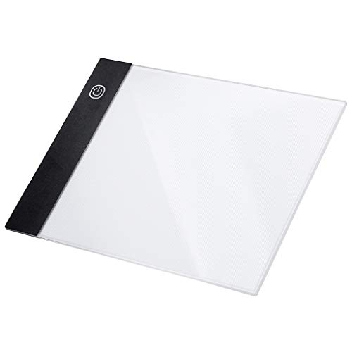 Chranto Lucky 7 !! LED A5 Painting Tracing Board Copy Pad Panel Drawing Tablet Art Artcraft Stencil ()