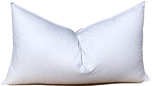 (Pillowflex Synthetic Down Alternative Pillow Inserts for Shams and Sleeping (22 Inch by 38 Inch) Oversized King )