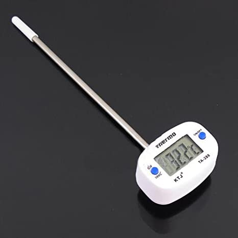 TA288 mini Digital Food Thermometer Kitchen Cooking Milk Coffee Water Oil -50~ 300 Pocket