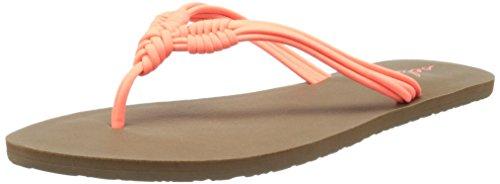 Volcom Women's Have Fun Dress Sandal Electric Coral