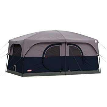 Amazon Com Coleman Hampton Family Cabin Tent 9 Person