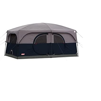Coleman H&ton Family Cabin Tent (9-Person)  sc 1 st  Amazon.com & Amazon.com : Coleman Hampton Family Cabin Tent (9-Person) : Sports ...