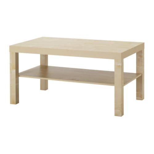 "Ikea Coffee table, birch effect 35 3/8×21 5/8 "", 424.2148.3822"