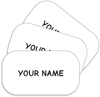 product image for Stick-N-Wear Personalized Custom Clothing Labels, No-Iron, Machine Washable, White (Pack of 40)