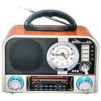 Caixinha Som Retrô Bluetooth Radio Am Fm Sw Usb Sd Grazep F8