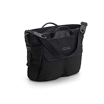 Image of Baby Bugaboo Changing Bag - Black - Convenient and Stylish Diaper Bag to Carry All of Your Essentials - Easily attaches to Bee5, Cameleon3, Fox and Buffalo Strollers, Black