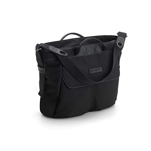 Bugaboo Changing Bag - Black - Convenient and Stylish Diaper Bag to Carry All of Your Essentials - Easily attaches to Bee5, Cameleon3, Fox and Buffalo Strollers, Black
