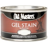 (Old Masters 81808 Gel Stain Pint, American Walnut)