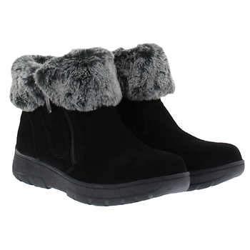 Khombu Ladies Jessica All Weather Bootie Size 9 Black