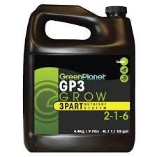Green Planet Nutrients - GP3 Part Grow (1L)
