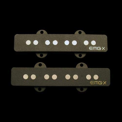 EMG JVX Bass Pickup Set Black ()