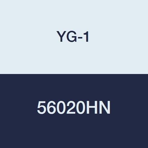 2-1//4 Length Miniature YG-1 56020HN HSS End Mill TiN Finish Ball Nose 2 Flute Regular Length 11//64 Double