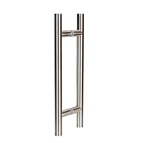 Coastal Shower Doors C5313-8B Paragon 8'' Ladder Style Pull Handle | Chrome | Frameless Glass