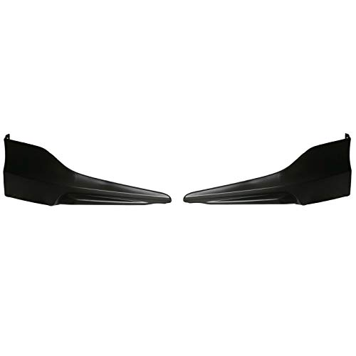 2PC HFP Style Front Bumper Lip Underbody Spoiler Splitter for 2016-2017 Honda Accord 4 Door - Honda Accord Front Spoiler
