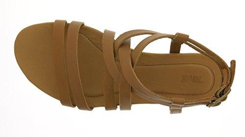 TevaAvalina Crossover Leather Ws - Sandali da Atletica Donna Beige (Tan 831)
