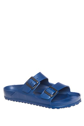 Birkenstock Unisex Arizona Essentials EVA Navy Sandals - 43 M -