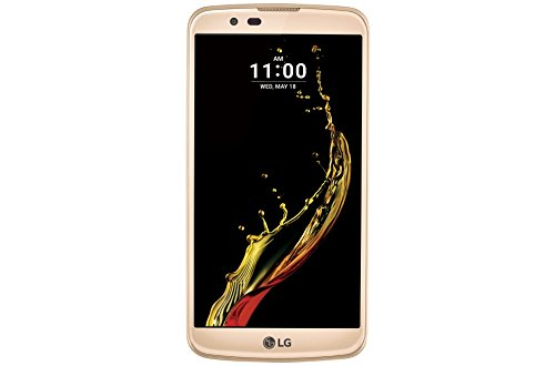 LG K10 Cell Phone (K428SG) for T-Mobile - Gold - (Certified Refurbished) by LG
