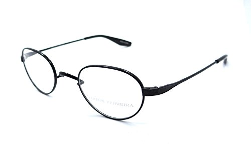 Barton Perreira RX Eyeglasses Frames Eton 44x22 Black Satin Titanium - Titanium Barton Perreira