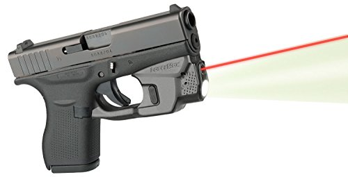 LaserMax Centerfire Laser/Light Combo Red Laser Glock 42/43 Under Barrel by L&M