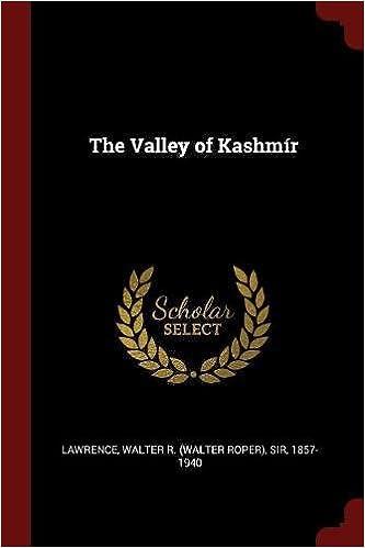 Book The Valley of Kashmír