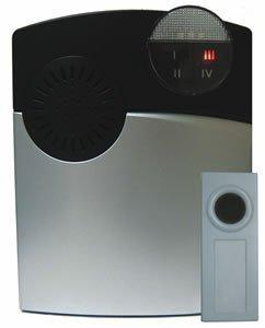Dakota Alert 1000 Wireless Doorbell Ring Detector, Stainless (DC-1000)