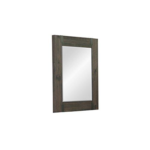 Magnussen B3804-42 Abington Portrait Mirror, Weathered Charcoal (Dresser Mirror Portrait)
