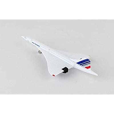 Daron Worldwide Trading Air France Concorde Single Plane DAR98950: Toys & Games