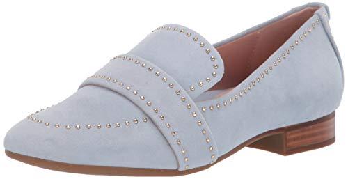 Beaded Flats Loafers Shoes - Taryn Rose Women's Bristol Loafer Flat, Moonstone, 9 M Medium US