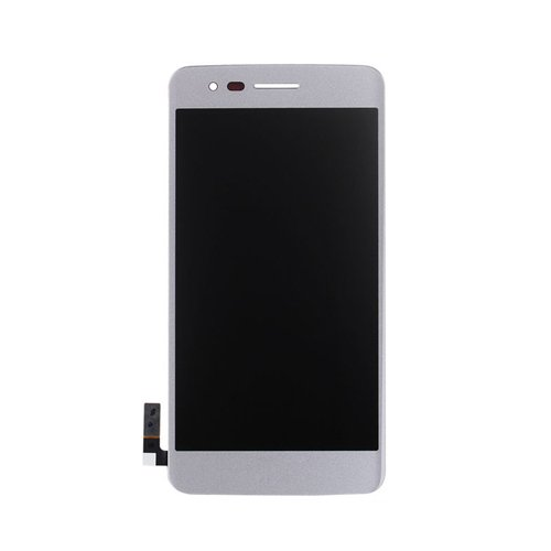 - LCD Display Digitizer Touch Screen Assembly for LG M210 MS210 Aristo LV3 K8 2017 (White)