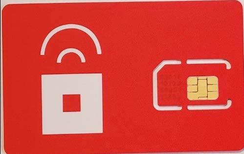 Amazon.com: Tarjeta SIM de bolsillo rojo AT&T GSMA: Mpsilverberg