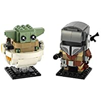 Lego BrickHeadz Star Wars The Mandalorian & The Child 75317 Building Kit