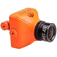 RunCam Swift2 FPV Camera IR Blocked (NTSC) Upper Connector 2.5mm lens- Orange