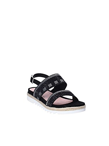 Stonefly Women's Avril 3(334-10) Goa S Ankle Strap Sandals Black qFB20fc35