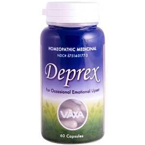 VÄXA Deprex: A Homeopathic Medicinal For Mild Depression - 60 Capsule