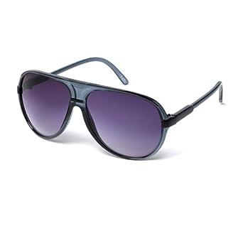 10e8499689e3 MUK Men's Earl Sunglasses Grey Frame with Smoke Lens MUK107765 One Size:  Amazon.co.uk: Clothing