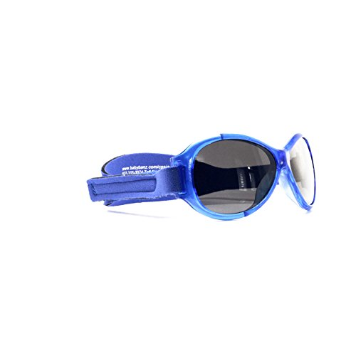 Baby BanZ: Retro BanZ - Baby: Pacific Blue | 100% UV Protection | Age: 0-2 Yrs.