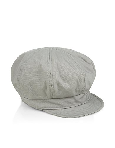 Accessorize Womens Basic Bakerboy Hat Size One Size Grey