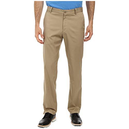 Nike Golf Tech Flat Front Dri Fit Pants in Khaki Brown ()
