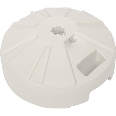 Paradise Cushions 35-Pound Umbrella Plastic Base, White : Patio Umbrella Bases : Garden & Outdoor