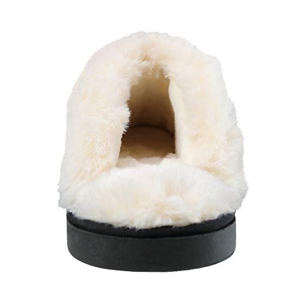 ChayChax Donna Uomo Inverno Pantofole Scamosciate Morbido Caldo Peluche Pantofole da Casa