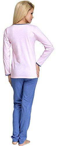 Merry Style Pijama para Mujer 1024 Rosa