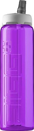 SIGG VIVA Active Top Water Bottle, Purple, - Top Bottle Active