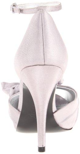 Nina Da silver Bridal Scarpe Con Donna Electra Argento Tacco wrfrxqXg8